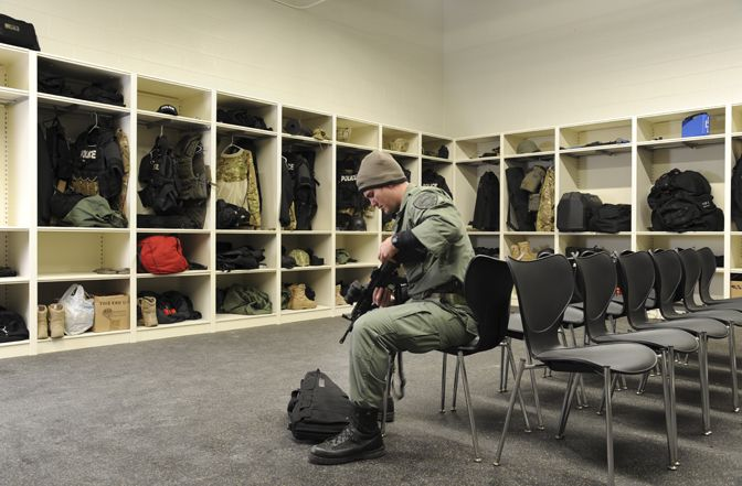 Equipment And Evidence Storage No Longer Suspect At Skokie Police  Department | Spacesaver