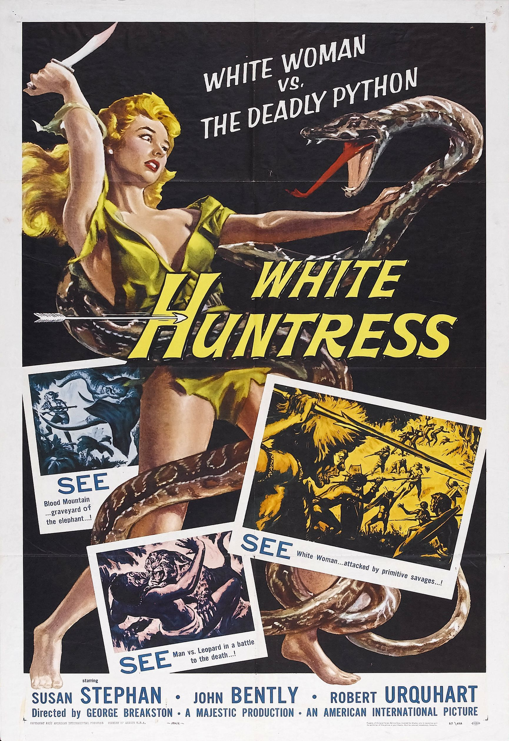 WHITE HUNTRESS