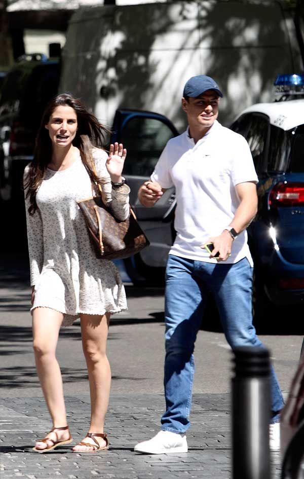 Y no es raro que Lucía adore pasar tiempo con este par, pues las bromas entre ellos nunca faltan, incluso, 'Chicharito' aseguró hace unas semanas que a veces 'se le pasa la mano'