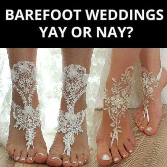 Perfect For A Bare Foot Country Style Wedding