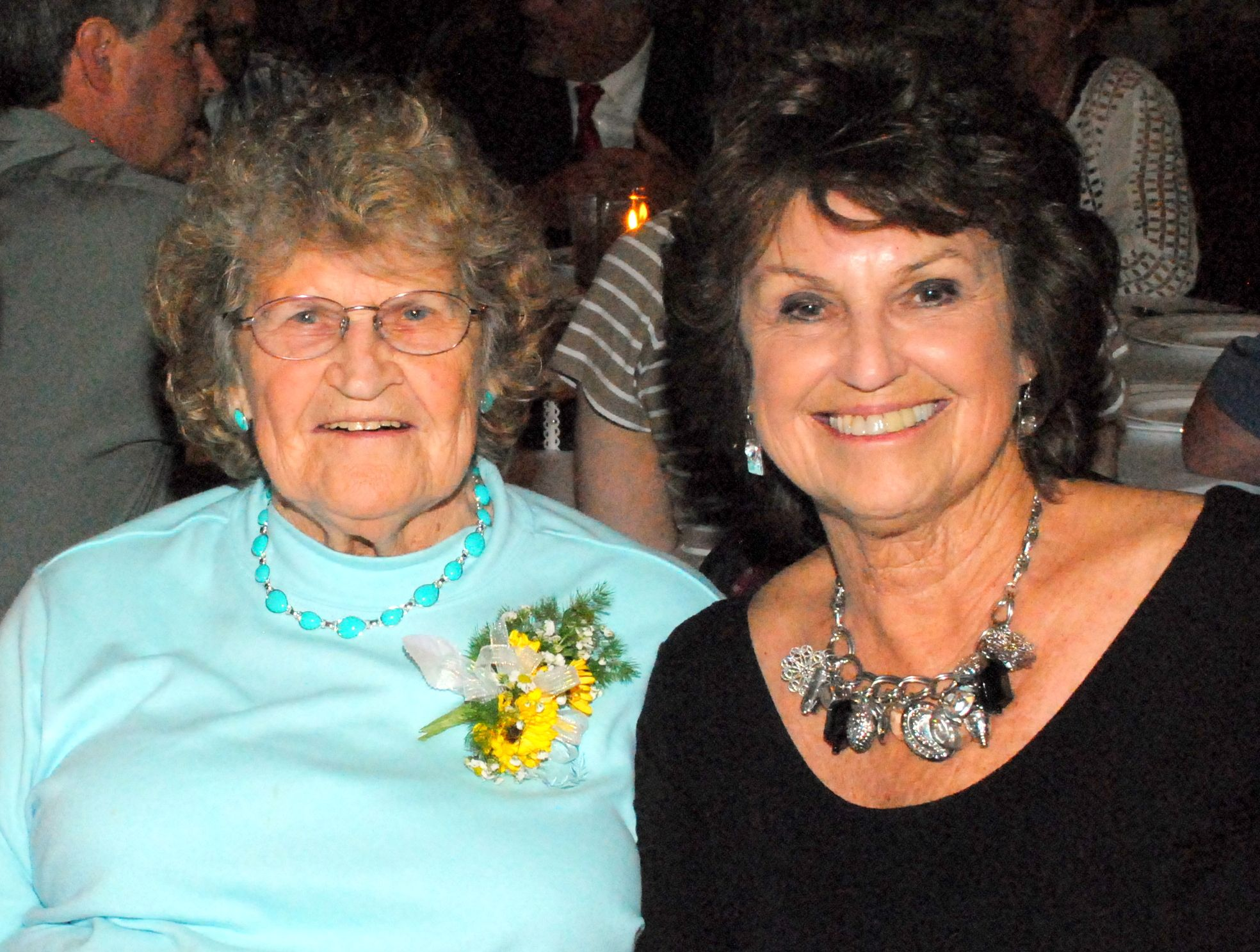 Grandma and Aunt Jo:  Two beautiful ladies