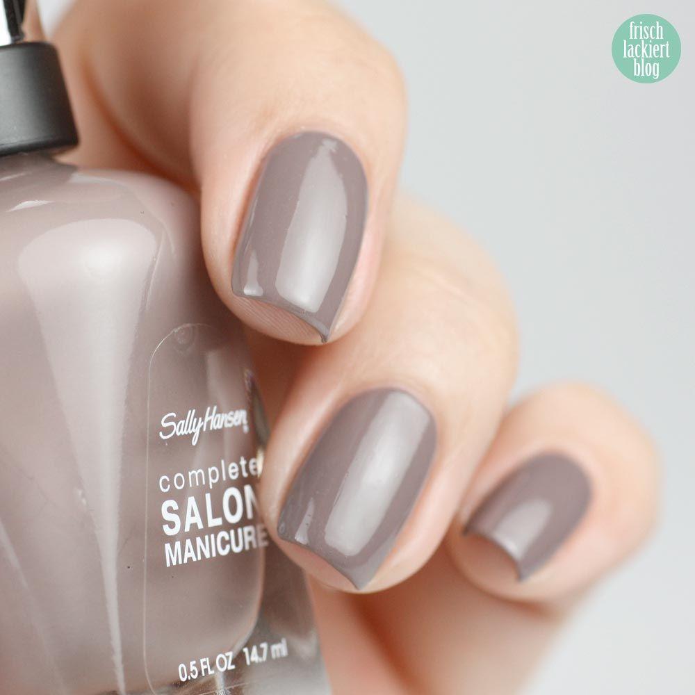 Sally Hansen – Commander in Chic – swatch by frischlackiert | nails ...
