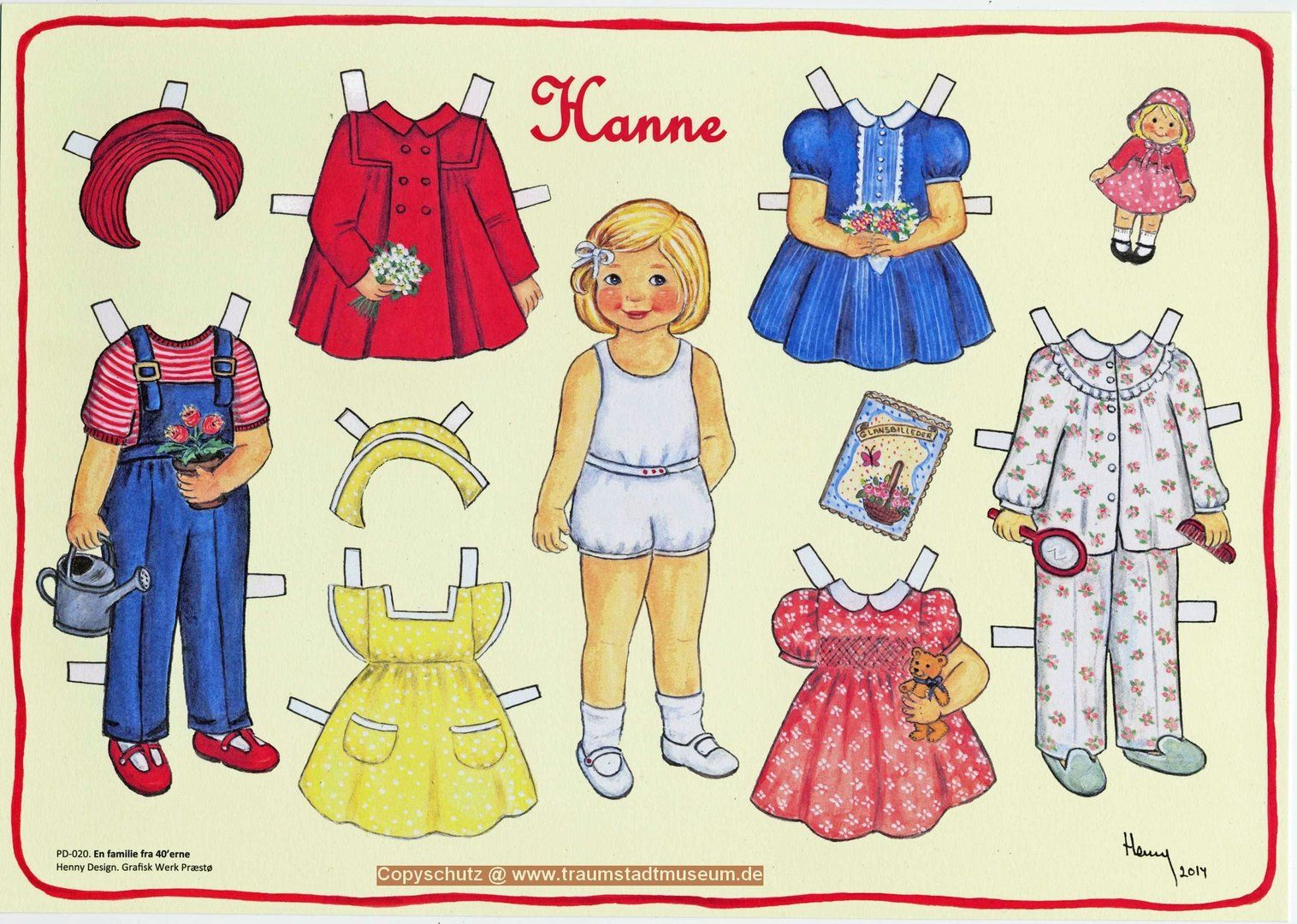 Leben Und Wohnen Kleidung Anziehpuppe Madchen 12