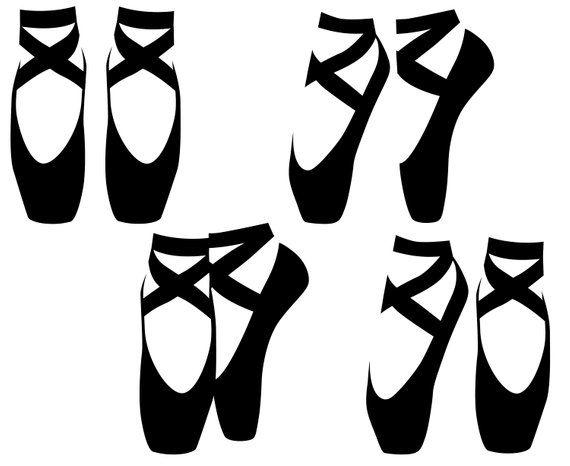 ef3597946c62e Ballet SVG, Ballet shoes, Ballet, Ballet pointe shoes, Shoes, Pointe ...