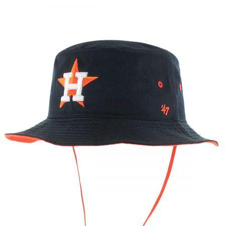 d04d006390432 47 Brand Houston Astros MLB Kirby Bucket Hat