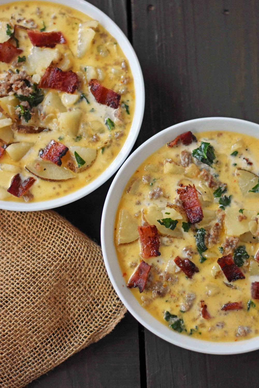 Zuppa Toscana Soup (Olive Garden Copycat Recipe) Modern