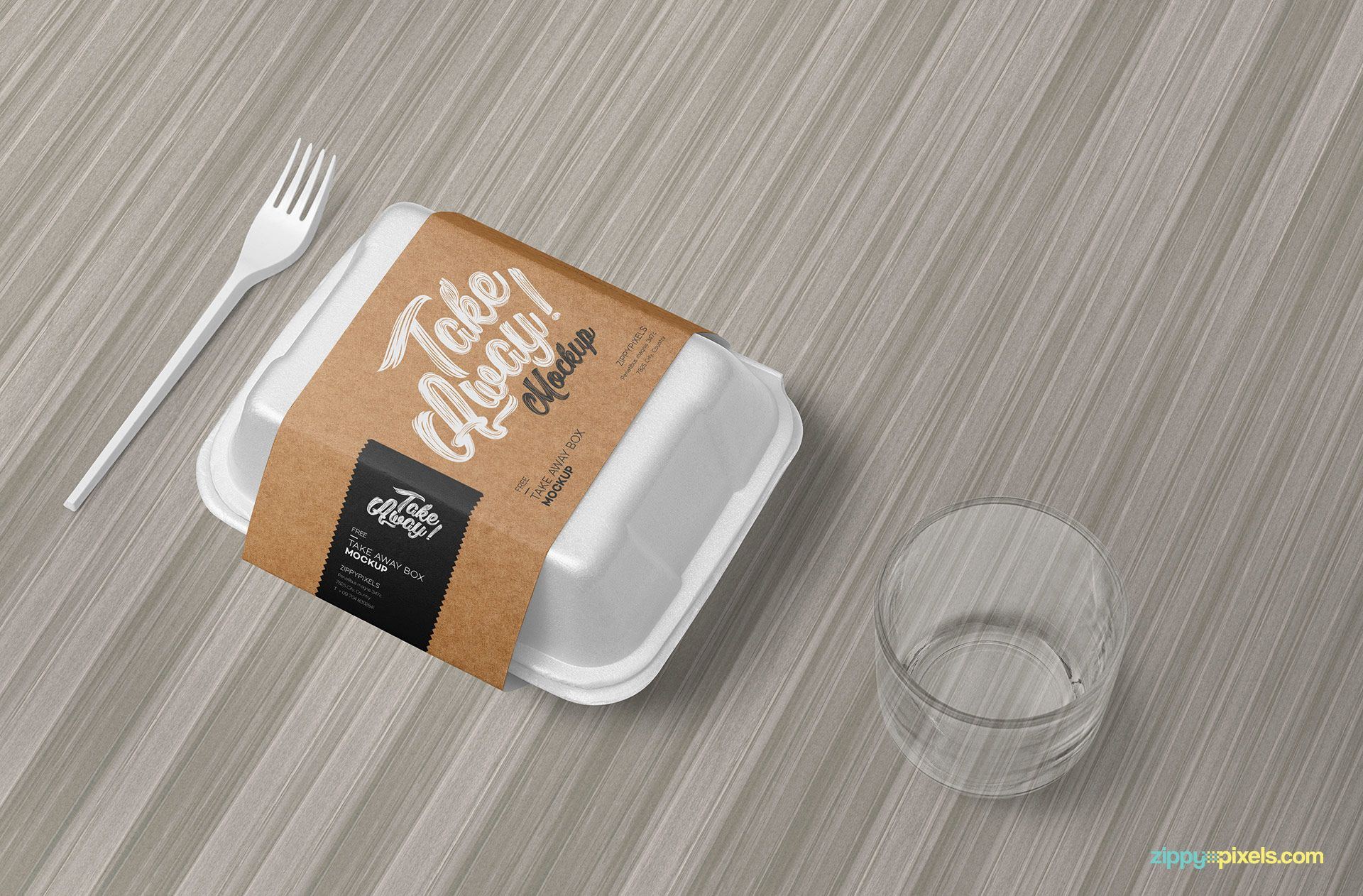 Download Free Disposable Food Packaging Mockup | Food box packaging ...