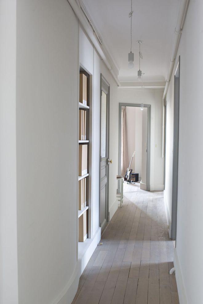 couleur peinture couloir cheap couleur peinture couloir. Black Bedroom Furniture Sets. Home Design Ideas