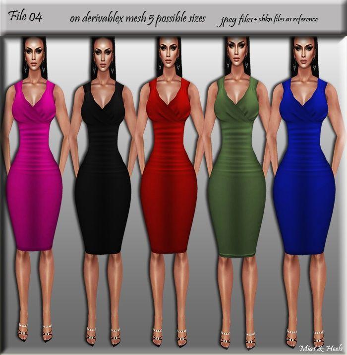File 04 in 2019 | IMVU file sales | Imvu, Dresses, Bodycon dress