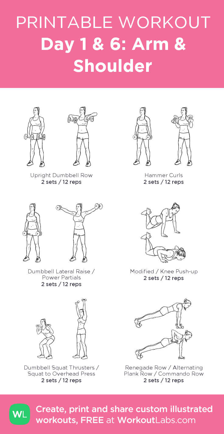Day 1  · Free workout by WorkoutLabs Fit