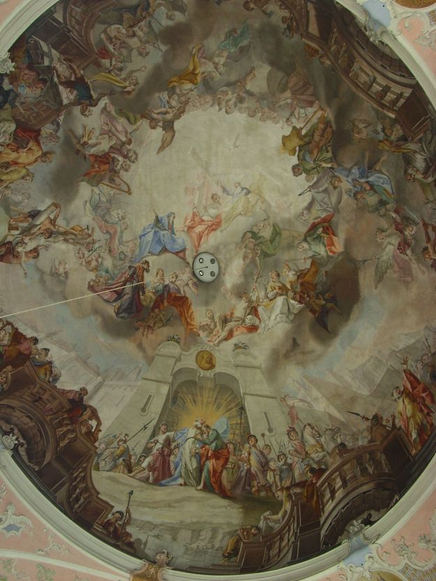 St. Peter und Paul - Deckenmalerei