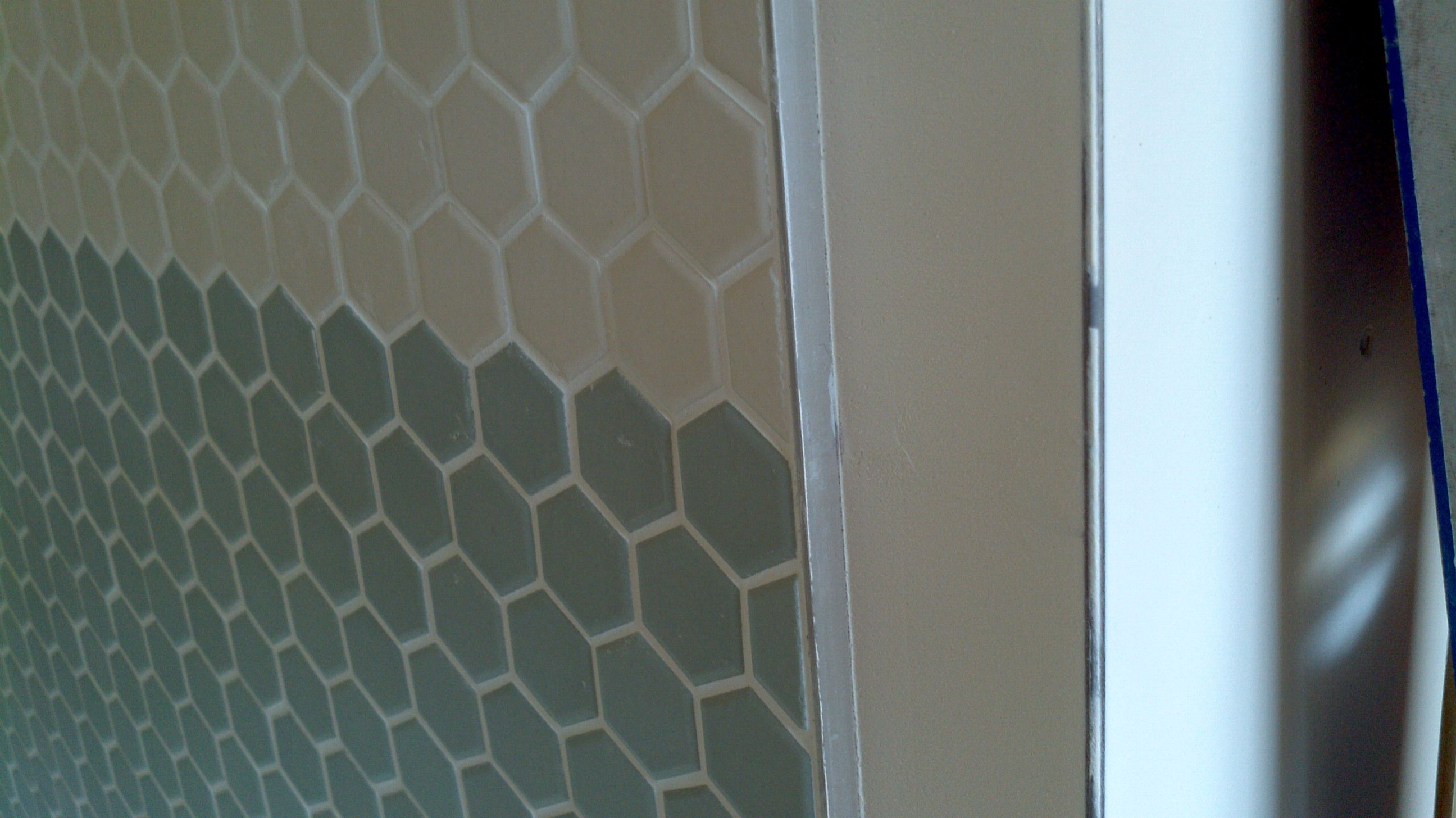 Showing Schluter Edge Backsplash Bathroom Wall Tile Tile Edge Tile Edge Trim