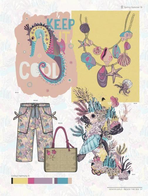 Style Right Kidswear Trendbook S/S 2019 incl. DVD # ...