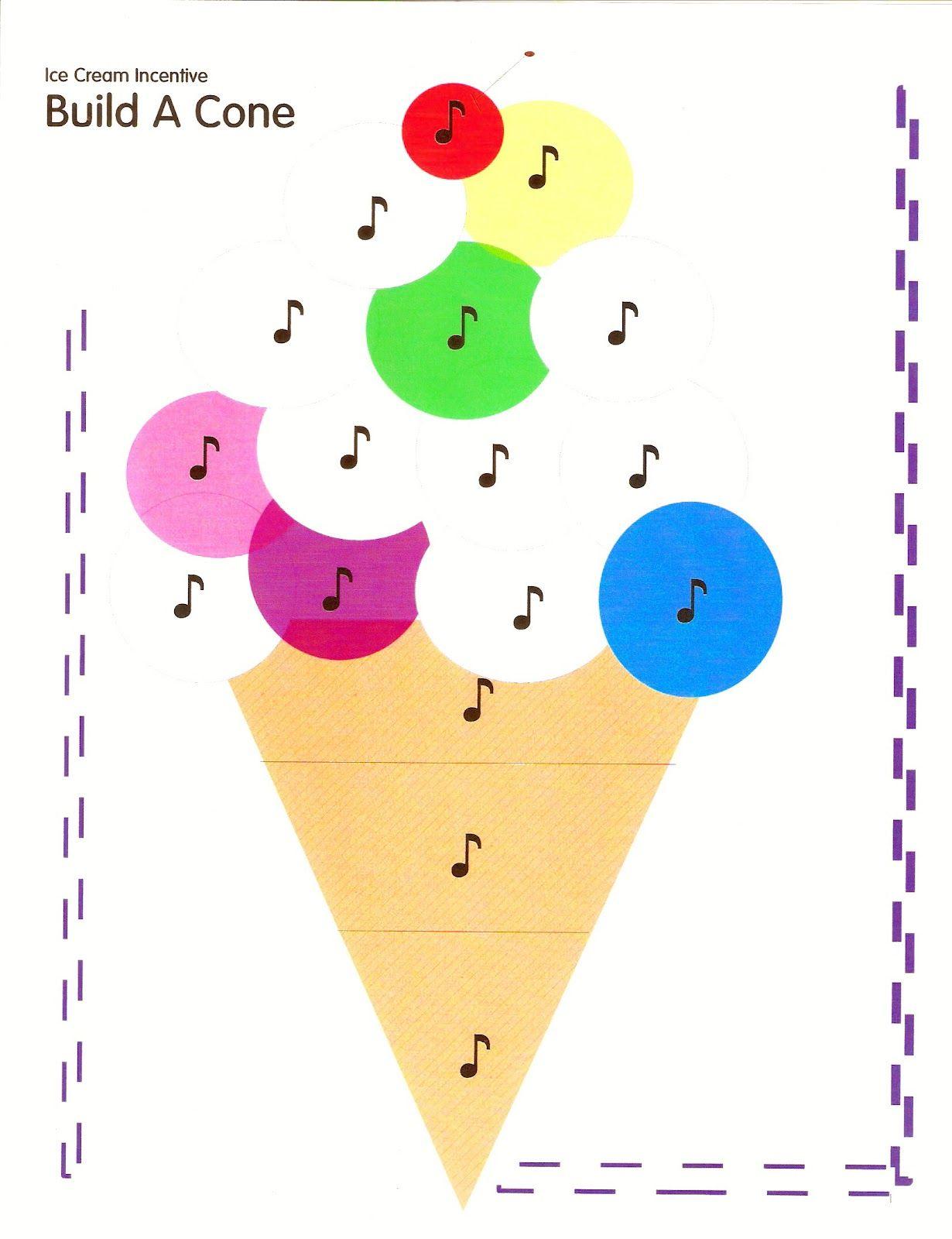Piano Teaching Ice Cream Incentive