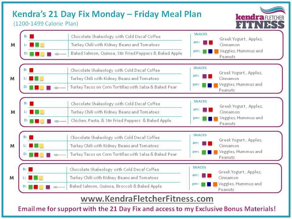 21 Day Fix Reviews - Letu0027s Get Healthy Pinterest - Maaltijden - sample workout calendar
