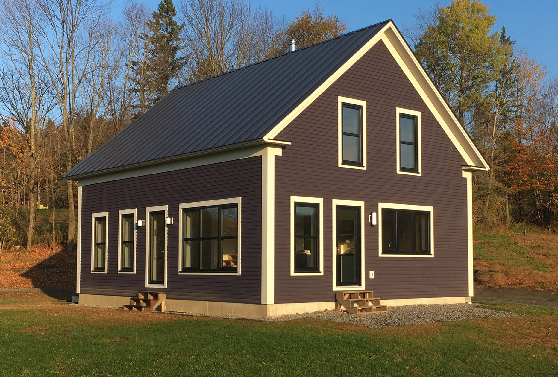 Vermont Simple House Plan Built In Vermont Simple House Simple House Plans House Plans Farmhouse