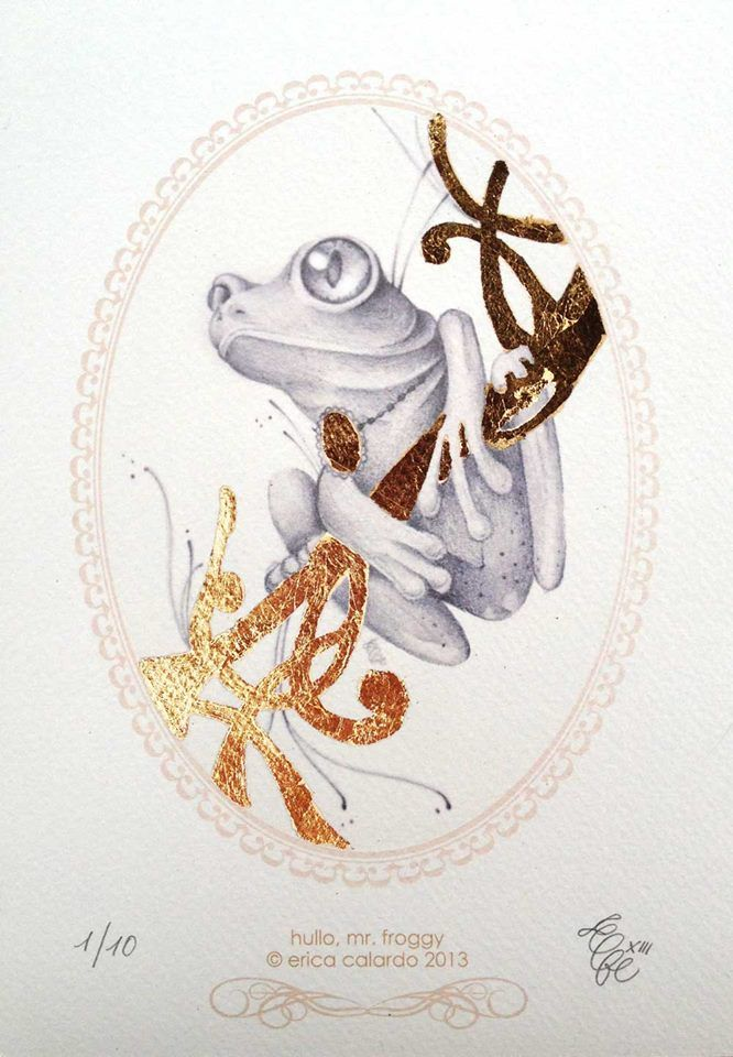 Mr. Froggy by Erica Calardo