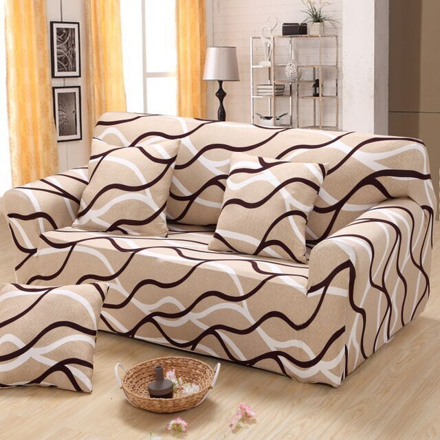 Slipcovers Tight Wrap All Inclusive Slip Resistant Sofa Cover Elastic Recliner Cover Single Two Three F Sofa Couch Furniture Sofa Furniture Leather Sofa Covers