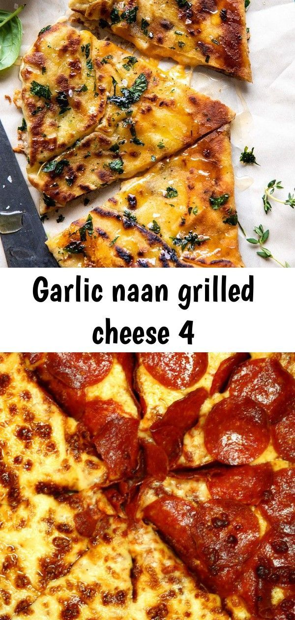 Garlic Naan Grilled Cheese |  33 Incredibly Delicious Quotes About Pizza