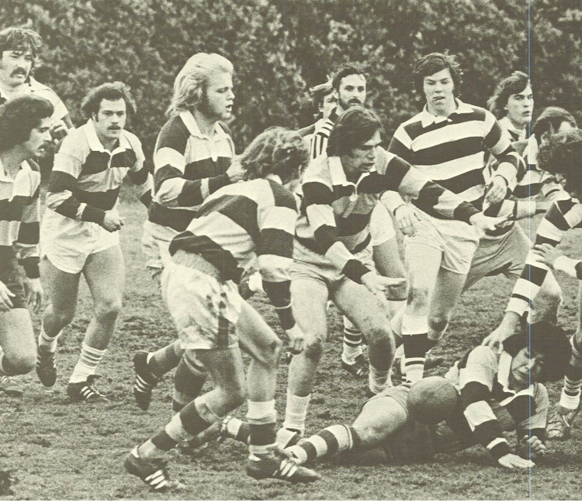Oregon Club Rugby 1974 75 From The 1975 Oregana University Of Oregon Yearbook Www Campusattic Com University Of Oregon Yearbook History