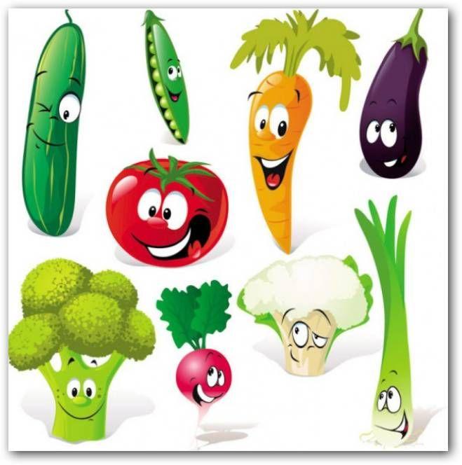 dibujos de frutas y verduras a color - Buscar con Google ...