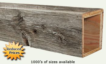 Old Barn Wood Beams | Unique Aged Look for Your Home ...