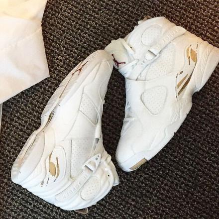 8ca830842b155f ... for the jordan brand 50% off drake nike air jordan 8 retro ovo 6ix  years sneaker b320a 90df9 ...