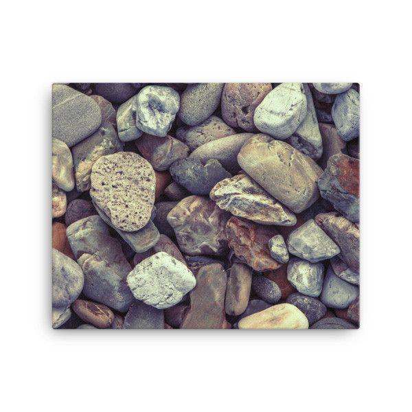 Canvas - Pebbles