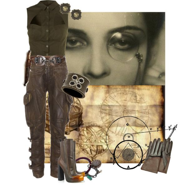 Steampunk by eleano on Polyvore
