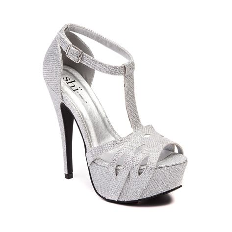 6edcda3ea28c Shop for Womens SHI by Journeys Fancy Heel in Silver at Shi by Journeys.  Shop today for the hottest brands in womens shoes at Journeys.com.