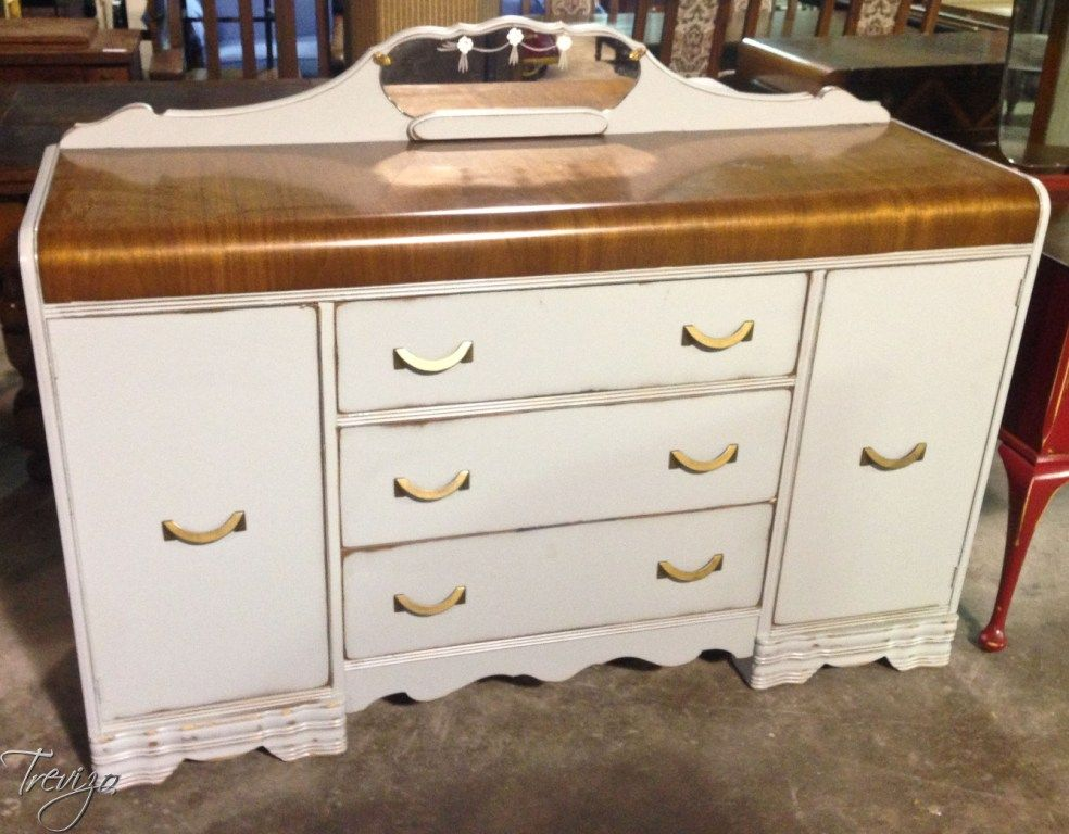 Auction Preview - Houston Antique Furniture Auctions & Events | Trevizo  Estate Auction - Painted Waterfall - Auction Preview - Houston Antique Furniture Auctions & Events