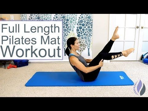27 Minute Abs, Butt and Thighs Pilates Workout by FitnessBlender.com