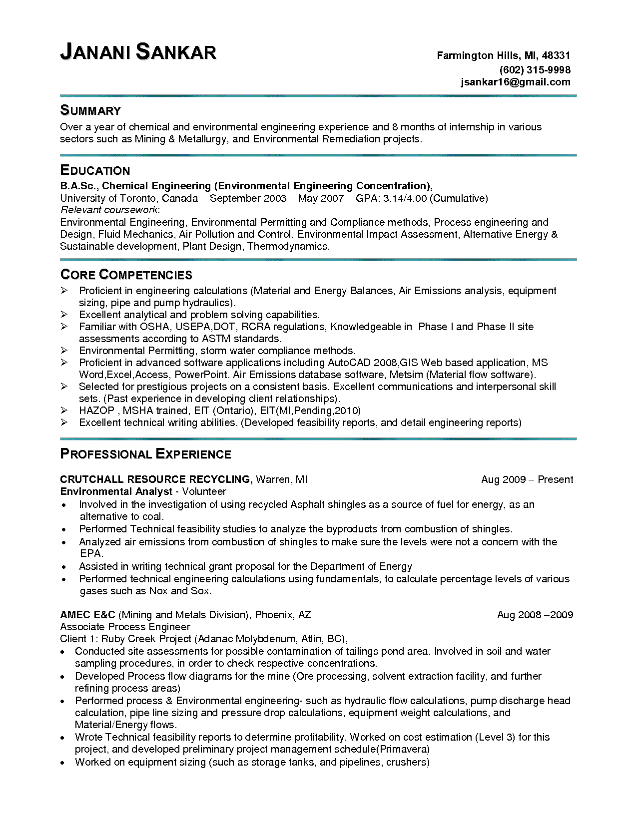 Resume Samples Job Resume Samples Resume Examples Resume Cover Letter Examples
