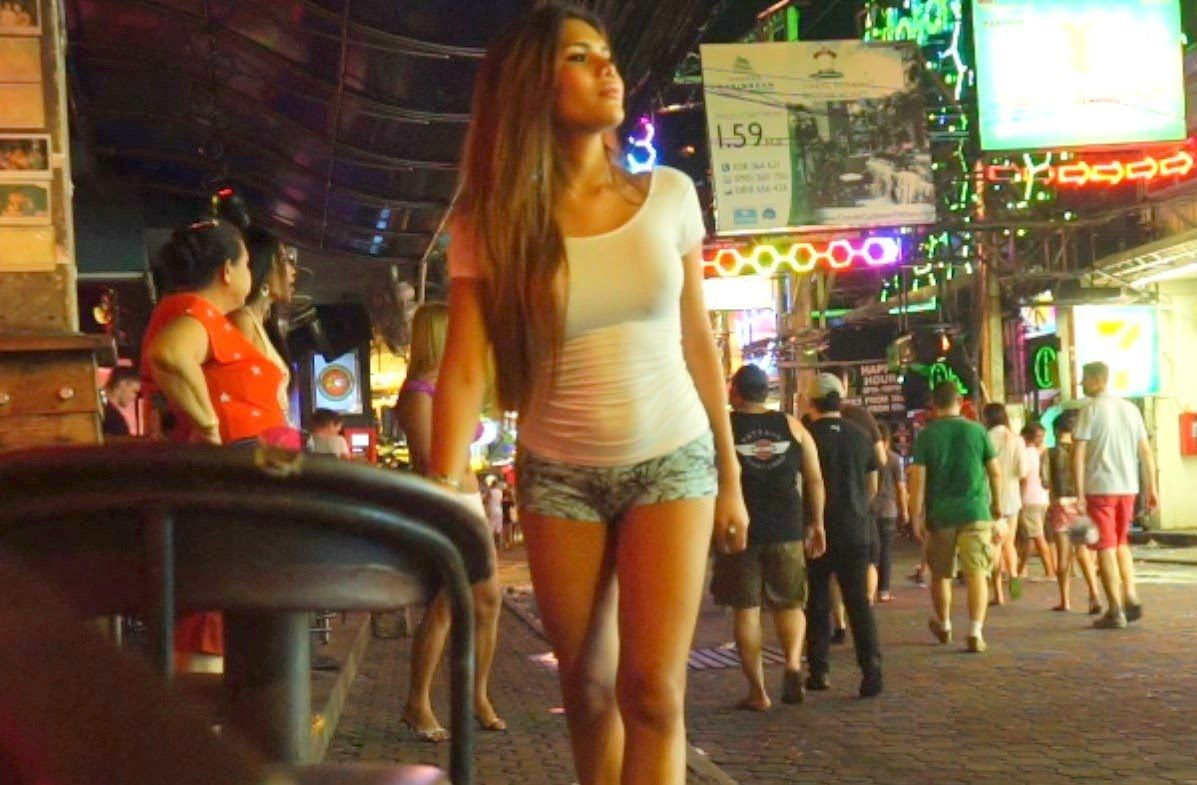 Walking Street Pattaya Ladyboy Bar Nightlife