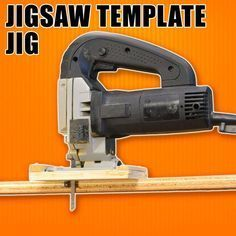 Photo of Jigsaw Template Jig: Make Duplicate & Repeatable Cuts with a Jigsaw.