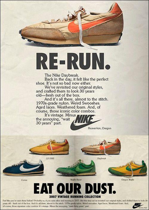 newest 19aa5 6c7ce Memory Lane  Vintage Nike Ads   Kicks   Sneakers nike, Vintage nike ...