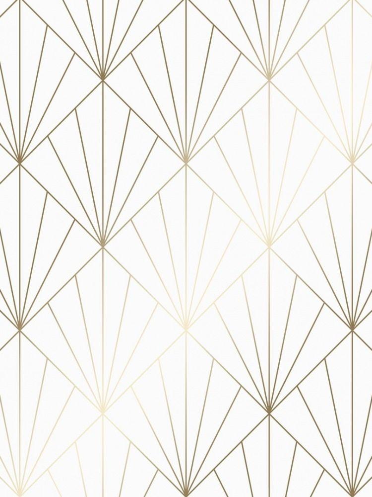 Betty Metallic Wallpaper White Gold Metallic Wallpaper White And Gold Wallpaper White Background Wallpaper White gold and silver wallpaper