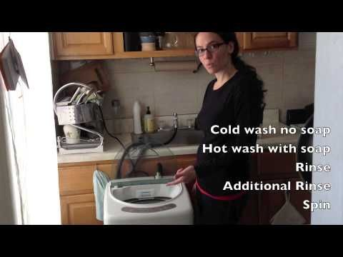 If you live in an apartment without a washer/dryer hookup and want ...