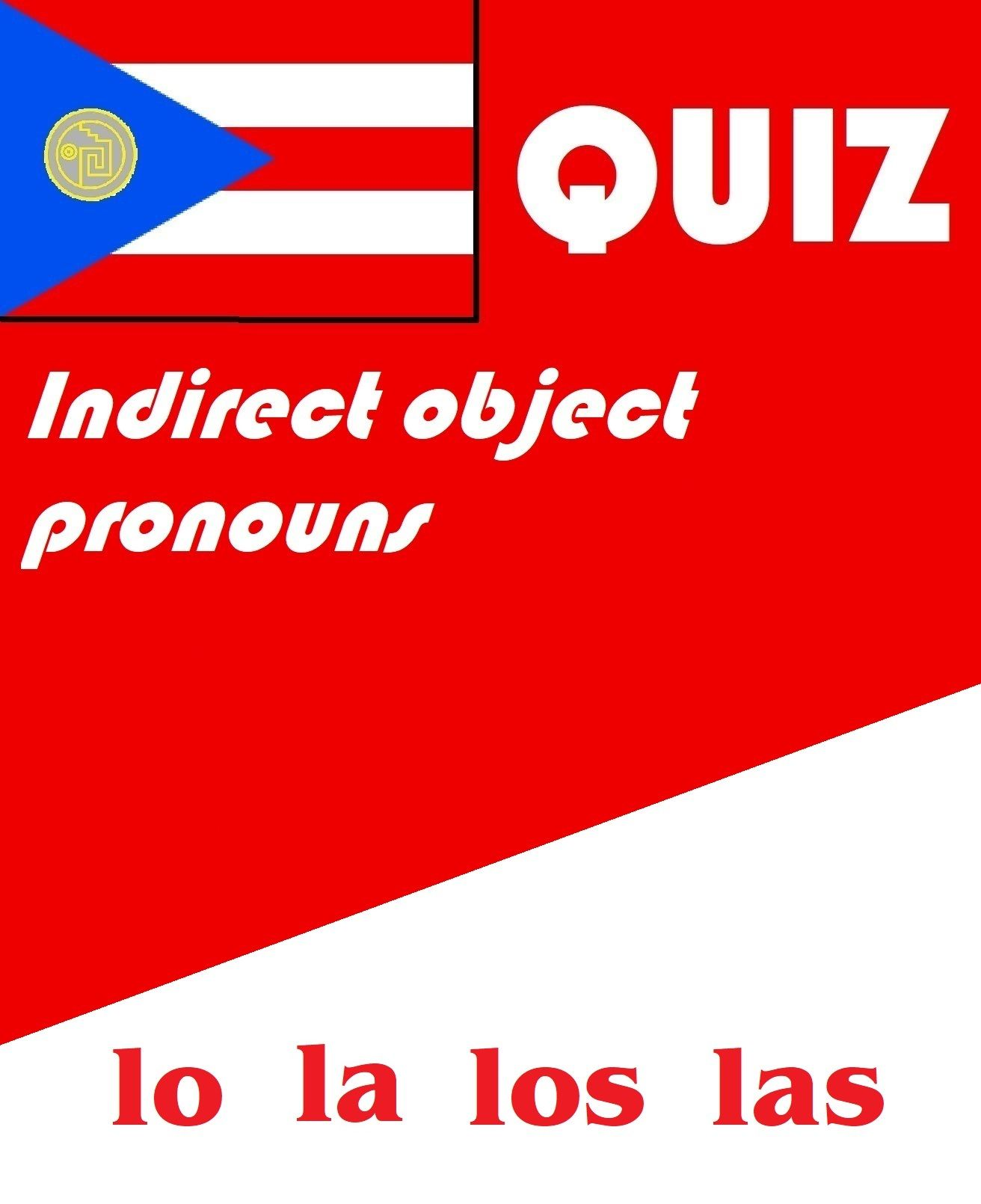 Spanish Indirect Object Pronoun Quiz Or Worksheet