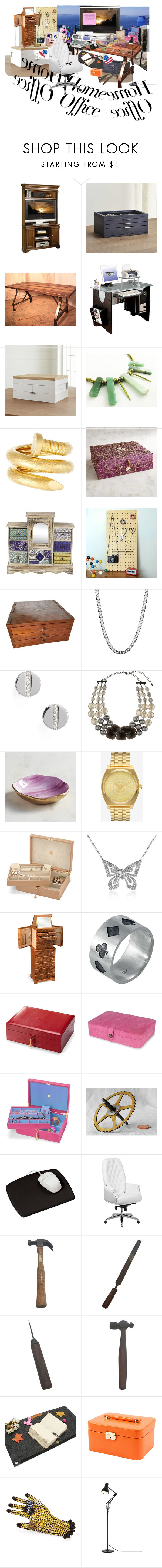 Home Jewelry Store by jaeleesjewelry liked on Polyvore