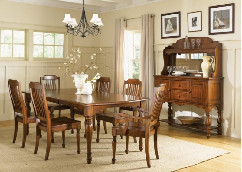 Americana Dining Room Set | Furniture World Galleries: A Furniture And  Mattress Store Serving Paducah