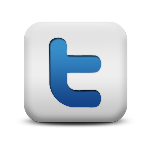 Twitter Png Http Coupleontherun Com Wp Content Uploads 2010 10 118062 Matte Blue And White Square Icon Social Twitter Logo Social Media Logos Blue And White
