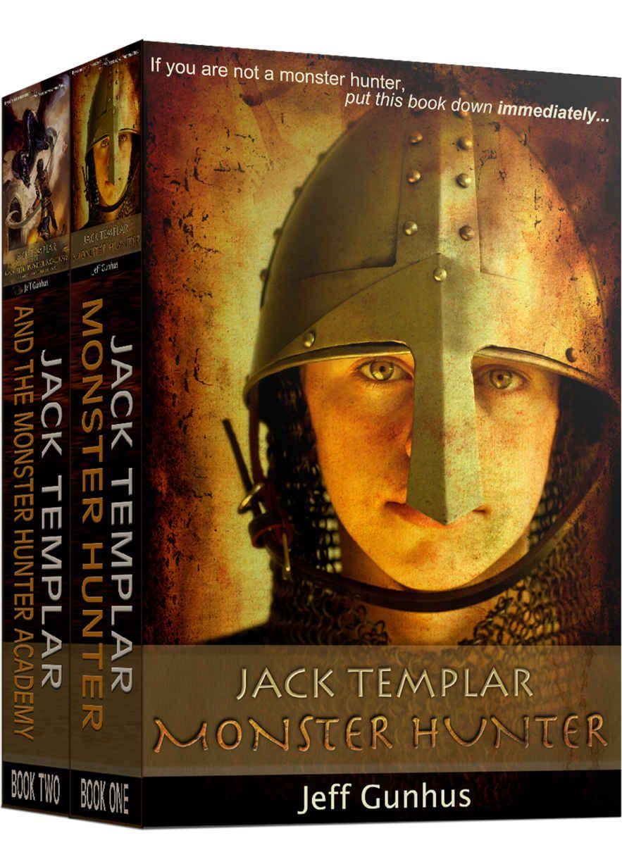 Jack templar monster hunter box set books 1 2 special
