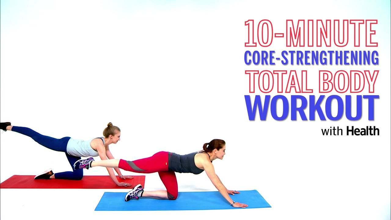This TotalBody Workout Sneaks Core Into Every Move  Core