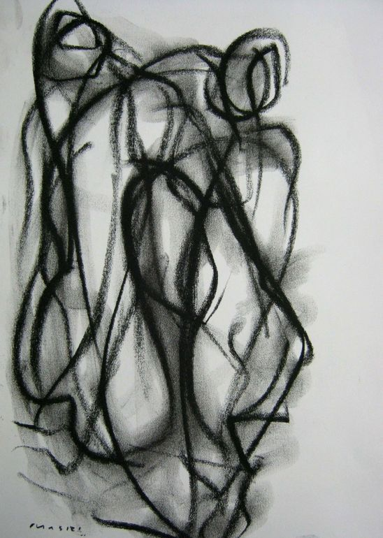 two figures / by Masri Hayssam