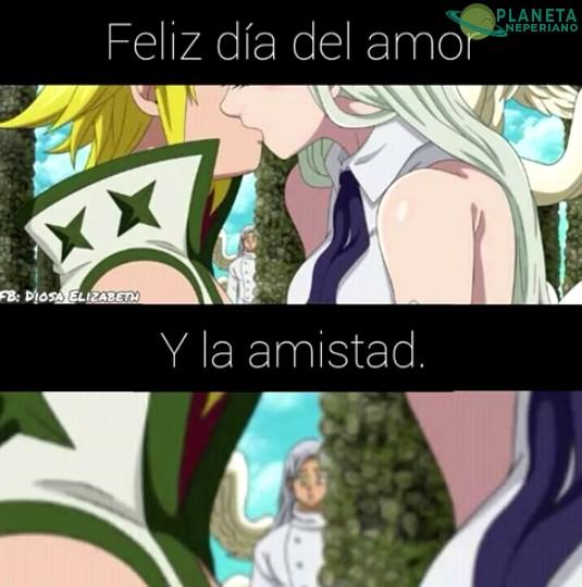 Feliz Dia Del Amor Y La Amistad Solo En Colombia Planetaneperiano Imagen Memes De Libros Anime Romanticos Meme De Anime