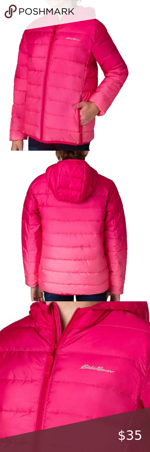 Eddie Bauer Girls New NWT Puffer Coat 5 6 10 14 Boutique