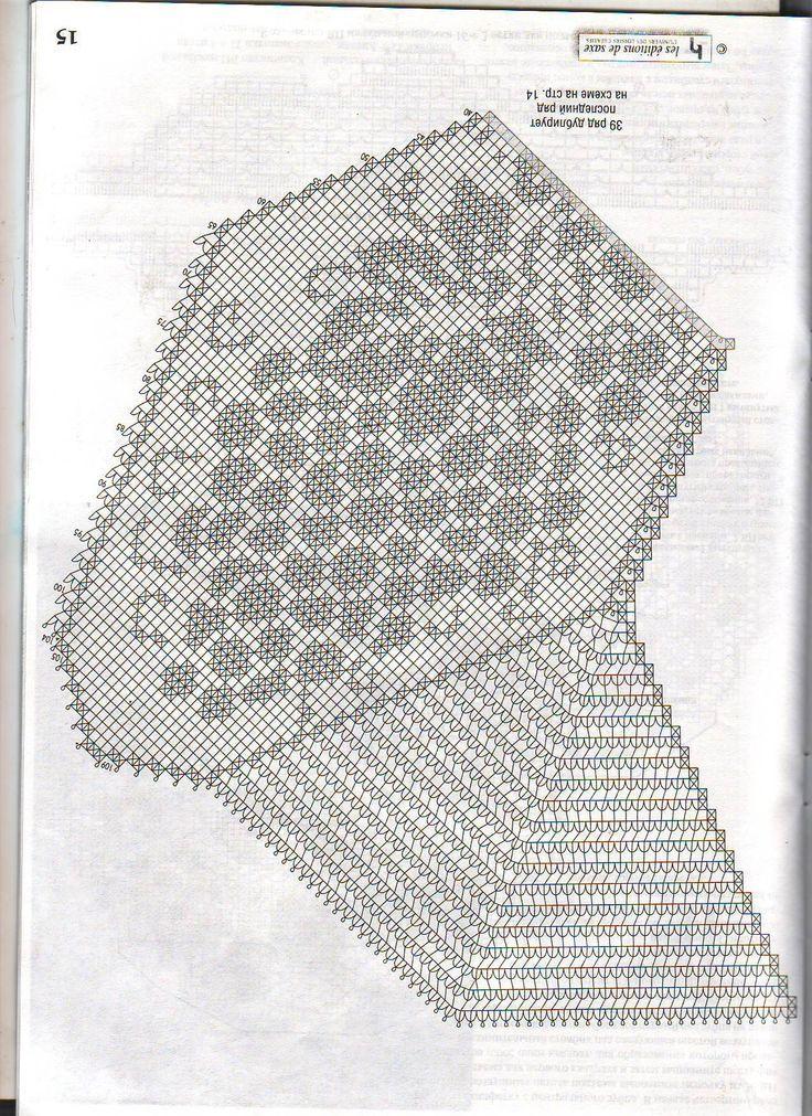 Pin de sandra correa en patrones | Pinterest | Croché, Manteles y ...
