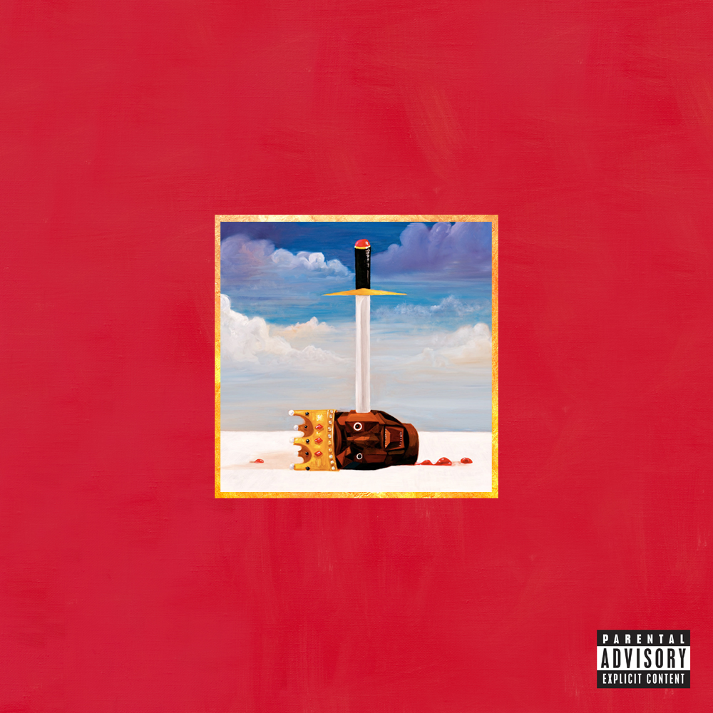 Kanye West My Beautiful Dark Twisted Fantasy 1280x1280 Freshalbumart Album Artwork Cover Art Album Cover Art Horror Artwork