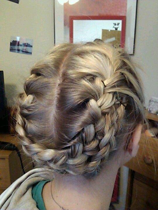 Arizona Robins From Greys Anatomy Inspired Braid Grey Hair Color Hair Hair Styles